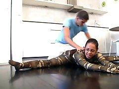 flexi spandex gymnast rád kamasutra sex