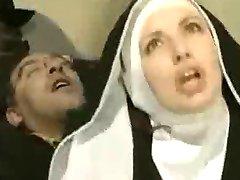 French Nun like Ass Fuck