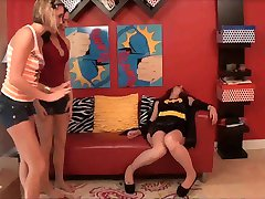 Robbing Batgirl
