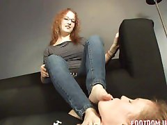 ugly girl sexy pieds