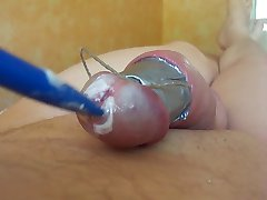 PENIS INSERTION TORTURE CLOSEUP COCK PAINFUL SCHMERZ 2