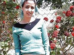 Турецко-арабский-азиатских фото hijapp смесь 7