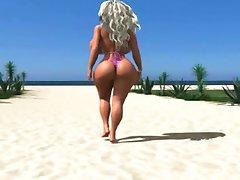 Big 3D tits