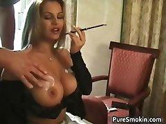 Amazing brunette Friday gets her huge part2