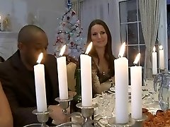 Hard-core Christmas dinner hook-up