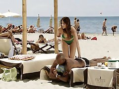 Spanish brunette white girl with black lover - Softcore Interracial