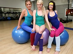 Add Three-way in this yoga session
