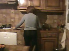 Daily life of a mature housewife