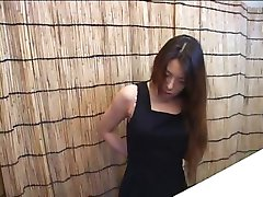 Hidden camera in this Japanese changing room captures them dressing