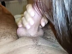 Perfect blowjob wife swallows huge load
