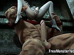 Foxy 3D babe getting fucked hard by The Juggernaut