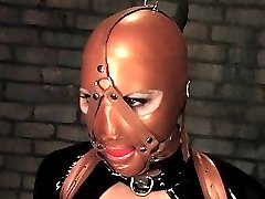 Vendetta returns to Wiredpussy to suffer at the hands of the talented Claire Adams. Claire encases Vendetta in latex and pushes her to her limits with challenging bondage positions, intense electrical play, and so many orgasms that I lost count. Claire and Vendetta have unbeatable chemistry. Don't miss it!