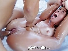 Tiny4K - Little flexible Lilly Ford wet wild fuck