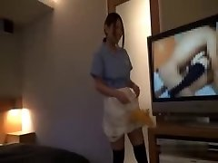 Asian Hotel Maid Getting Fucked