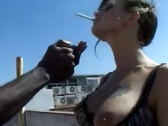 smoking slut