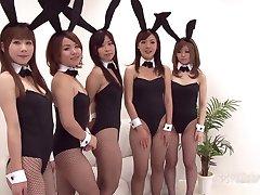 Japanese Bunny Orgy (Uncensored JAV)
