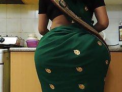 Indian Bhabhi's HUGE ass