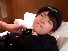 Hikaru Shiina in Willing Flight Attendant part 2.2
