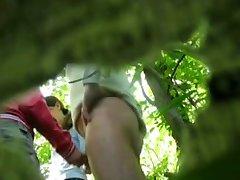 Handjob hidden cam