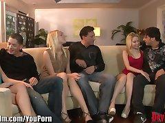 DevilsFilm पार्टनर बदलने वाले समूह-सेक्स