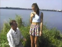 STP4 Skinny Teen Enjoys A Fuck Al Fresco !