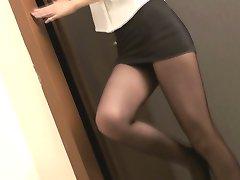 Azijski Glamour - lijepe mlade djevojke u seksi haljinama Po8