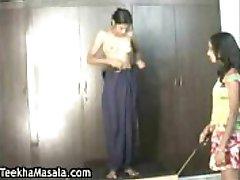 Indian maid punishment