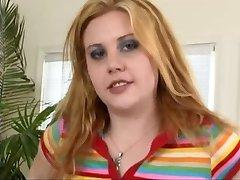 Furry Redhead Cherry Gets Dwarf BBC In 3Some