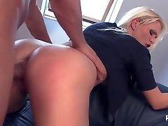 Police woman needs a dick