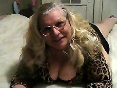 Big Mature Nymph Wearing Ebony Panties