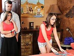 Rachel Roxx & Nickey Huntsman & Ramon Nomar in Couples Seeking Femmes #Legitimate