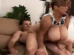 large tit mother i'd like to fuck rides cock