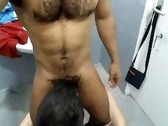 concupiscent in shower, gym, sauna 4