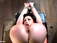 Welcome back Jennifer White to Hogtied. Girls are not made any hotter or sexier than this.  Sometimes you simply have to take beauty, and fuck it.  Tie it down so it can't get away.  Put it in a position where it's perfect pussy is right in front of it's own eyes, and make it cum and cum and cum.