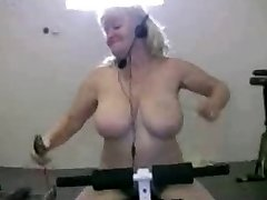 Grandmother in Gym R20