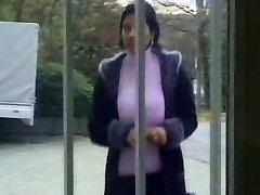 HUGE Boob Turkish Mature Sucks and Fucks Many Cocks
