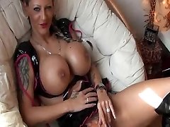 Tattooed German Girl with big Tits gets plumbed