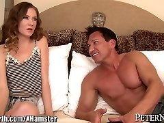 Big Dicked Teacher gets Young College Girl