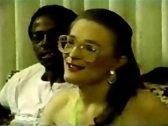 Swinger wife slut trying her first black cocks