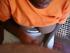 African House Maid Hand Job