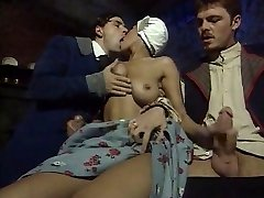 Dalila - Maid smashed by two guys
