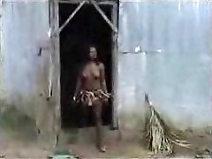 African aborigine smashing