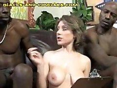 Cougar Swallows Black Load