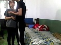 Indian Young College Paramours Penetrating In Hostel Room and record - Wowmoyback