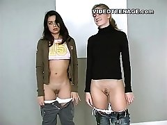 lesbian teenies first video casting