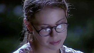 Glasses teens pounded