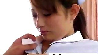 ultra-cute nurse (censored -)