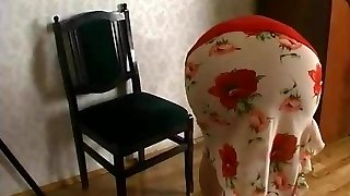 Horny russian grandmother's fuck-a-thon with a guy