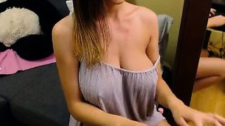 Glamour Romanian Eats Big Tit on Cam - Cam2Luv