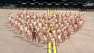 Naked at fest
